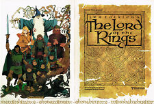 Lord Of The Rings Ralph Bakshi 1978 Original Promo Folder New! Tolkien Movie