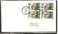 US SC # 2417 Lou Gehrig FDC. Uncacheted