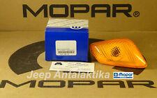 Side Repeater Light Left Jeep Wrangler TJ 97-06 55155461AC Genuine New Mopar