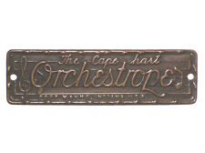 Capehart Orchestrope Jukebox Name Plate