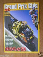 GRAND PRIX GIDS 2002 WEGRACE,SUPERBIKE,MOTORCROSS MOTO73,MINPOSTER BAYLISS