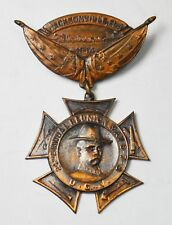 """1914 - """"24TH CONFEDERATE VETERANS REUNION"""" May 6-8 Jacksonville Florida Medal"""