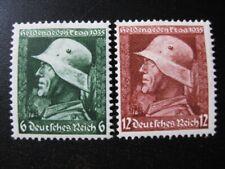 THIRD REICH 1935 mint German Wehrmacht stamp set!