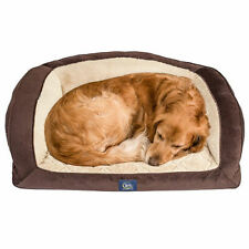 "Serta Perfect Sleeper Camel Back Couch Pet Bed, 40"" x 28"" - Brown"