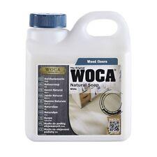 Woca Sapone per pulizia e manutenzione del pavimento in legno oliato bianco 1l