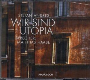 Stefan Andres - Wir sind Utopia - Hörbuch - 3 CD - Neu / OVP