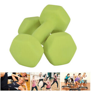 Dumbbells Cast Iron Weights Home Gym Fitness Aerobic Exercise Iron Pair Hand UK