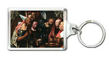 HIERONYMUS BOSCH - CHRIST BEFORE PILATE KEYRING LLAVERO