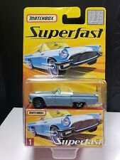 2005 MATCHBOX SUPERFAST 1957 FORD THUNDERBIRD LIMITED TO 8000