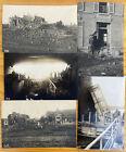 German WWI Salaumines Lens 1917 5 Photos Casino Cinema Dam