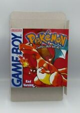 Pokemon Red  - box only - GB - thick cardboard. Pal, NTSC.
