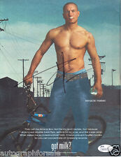 Dave Mirra autographed signed auto Got Milk full page magazine ad JSA IN PERSON