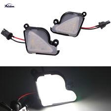 1Pair No Error LED Under Side Mirror Puddle Light for Skoda Octavia MK3 5E 12-17