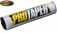 Handlebar Bar White Pad Fits Honda Cr80 Cr85 Cr125 Cr250 Cr500 Crf250r Crf450r