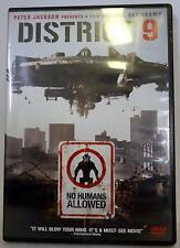 DISTRICT 9 DVD, Used 2009