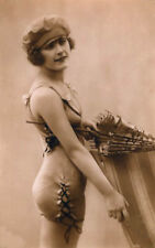 Old VINTAGE Antique 1920's BATHING BEAUTY Photo Reprint