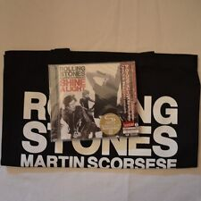 ROLLING STONES - Shine a light - 2008 JAPANSHM-2CD + PROMO BAG