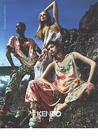 PUBLICITE ADVERTISING   2011  KENZO pret à porter