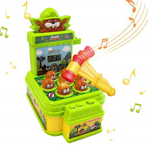 HahaGo Whack A Mole Game, Electronic Counting Score Game Toy, Whack A Mouse Game