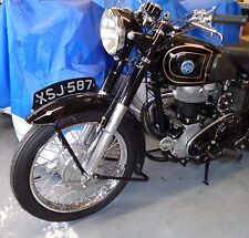 AJS & MATCHLESS 16MS etc 350cc RANGE PAIR SLIDER SUSPENSION LEGS WITH DUAL LUGS