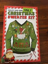 Crea il tuo Ugly Christmas Sweater Kit * NUOVO *