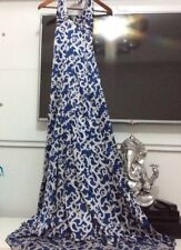 Bebe dress gown blue and silver size xsmall.
