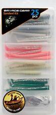 Savage Gear Sandeel kit 25pcs pesca pez de goma cebos Lucio depredadores