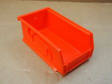 "7"" x 4"" x 3"" Lewis Red Plastic Box Bin Drawer Compartment Tool Organizer Tray"