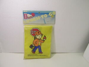 Alco Campbell's Soup Lunch To Go Nylon Yellow lunch Bag 1985 hd1352