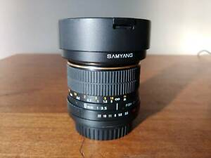 Samyang 8mm f/3.5 Fisheye- Canon Mount