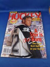 BECKETT HOCKEY CARD MONTHLY MAGAZINE NOVEMBER 1998 ISSUE 97 PROMO CARD CHECKLIST