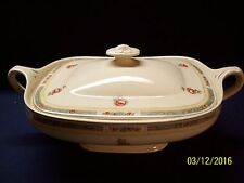 VINTAGE J&G MEAKIN FINE CHINA ROSE PATTERN TUREEN W/LID