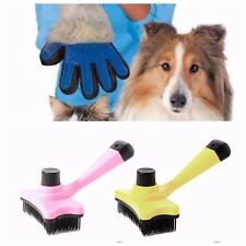 Cleaning Pet GLOVE , BRUSH  and TOWEL set Hair Removal (3-PIECES)grooming kit