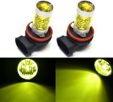 LED 50W H8 Yellow 3000K Two Bulbs DRL Running Daytime Cornering Angel Eye BMW