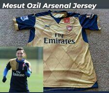 PUMA AUTHENTIC ARSENAL OZIL JERSEY SOCCER FOOTBALL XL RARE GOLD