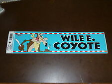 WILE E COYOTE LOONEY TUNES WARNER BROTHERS BUMPER STICKER  VERY VERY COLORFUL