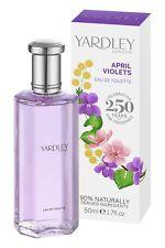 Yardley April Veilchen Eau de Toilette 50 ml EdT Damen Parfüm Parfum blumig