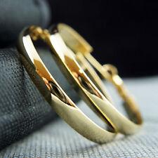 18k Gold GF hoop elegant earrings