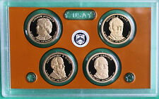 2011 Presidential Dollar Coin Proof Set US Mint 4 Golden Dollars No Box