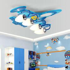 Cartoon LED Chandelier Kid's Room Airplane Ceiling Lamp Light Lighting Fixtures