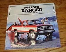 Original 1985 Ford Truck Ranger Sales Brochure 85 Pickup