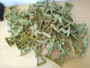 Vintage Plastic Toy Soldiers/Army Figures - Scottish? Bundle /Job Lot 38