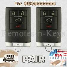2x Car Transmitter Remote for 2006 2007 2008 2009 2010 2011 Cadillac DTS 4b