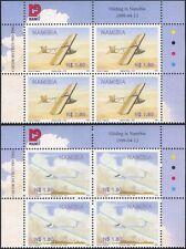 Namibia 1999 Gliders/Gliding/Planes/Aircraft/Aviation/Transport 2v c/b (n16604)
