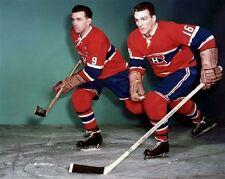 Henri Richard, Maurice Richard Montreal Canadiens 8x10 Photo