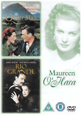 THE QUIET MAN & RIO GRANDE JOHN WAYNE MAUREEN O'HARA 2 DISC UNIVERSAL UK DVD EXC