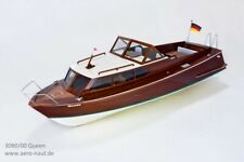 Queen 1960s Semi Scale RC Classic Sports Boat - Aero-Naut Wooden Kit