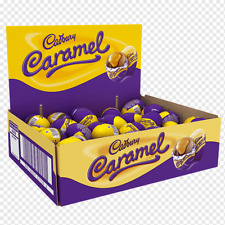 Cadbury Caramel Creme Easter Eggs  ( LOOSE) x 30 eggs BBD 31.07.2020 OUT OF DATE