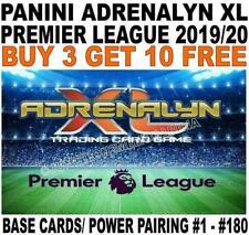 PANINI PREMIER LEAGUE 2019/20 BASE CARDS & POWER PAIRING #1 - #180 ADRENALYN XL