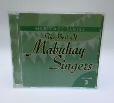 Heritage Series: The Best Of Mabuhay Singers Vol 3 Filipino Cd